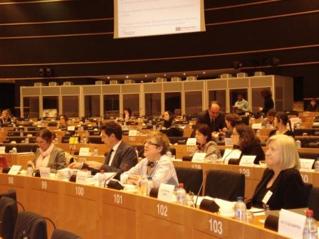 Winnet u presenation  at the Regional Committe meeting in the EU parliament 12 April, 2011, in Brussels